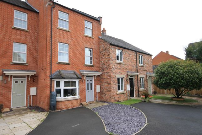Thumbnail Town house for sale in Allerton Close, Northallerton