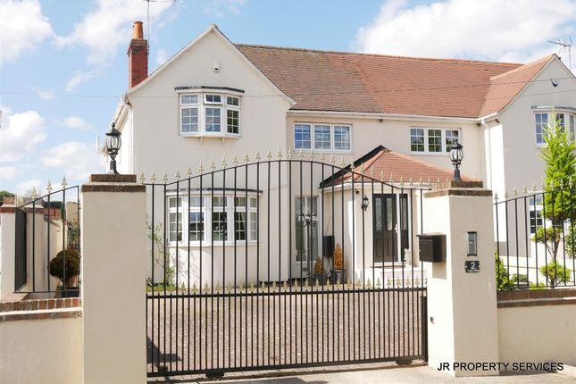 Thumbnail Semi-detached house for sale in Tudor Villas, Burton Lane, Goffs Oak