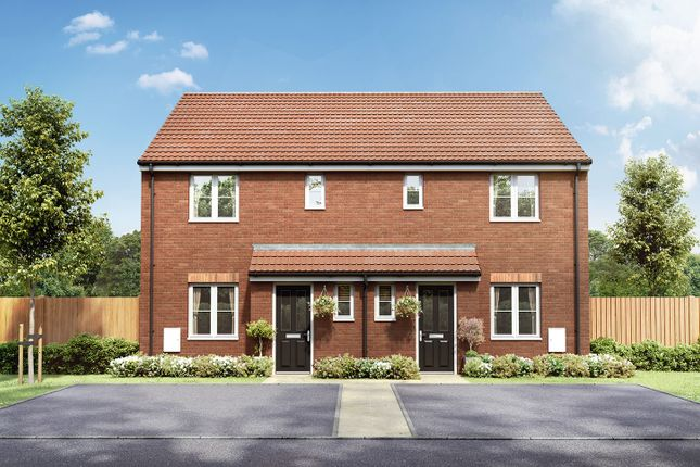 "3 bedroom semi-detached house for sale in ""The Emmett"" at Badgers Chase, Retford"