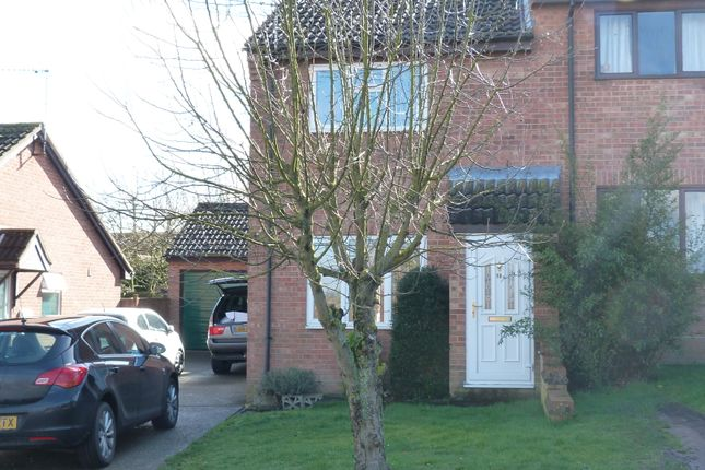 2 bed semi-detached house to rent in Wheatfields, Rickinghall IP22