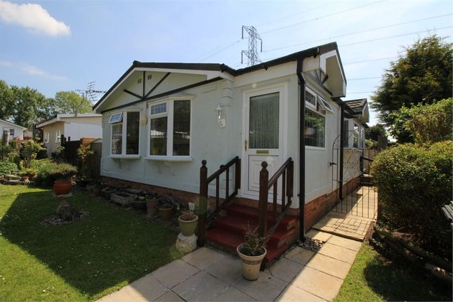 Thumbnail Mobile/park home for sale in Maple Way, Breach Barns Lane, Waltham Abbey, Essex