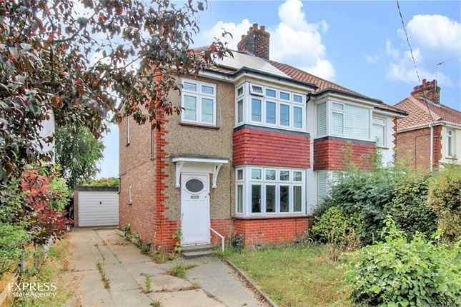 Thumbnail Semi-detached house for sale in Halstead Road, Kirby Cross, Frinton-On-Sea, Essex