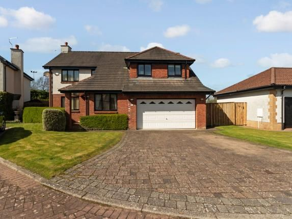 Thumbnail Detached house for sale in Rigwoodie Place, Ayr, South Ayrshire, Scotland