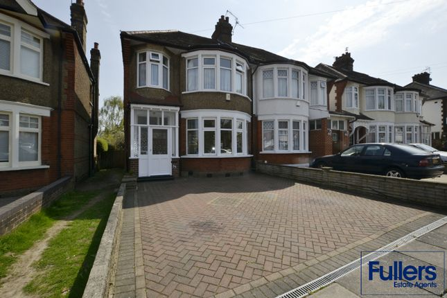 Thumbnail Semi-detached house for sale in Green Moor Link, Winchmore Hill