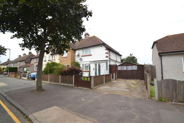 Thumbnail End terrace house for sale in Marsh Green Road, Dagenham