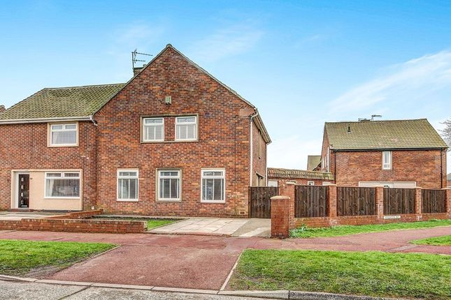 Thumbnail Semi-detached house to rent in Angerton Avenue, North Shields