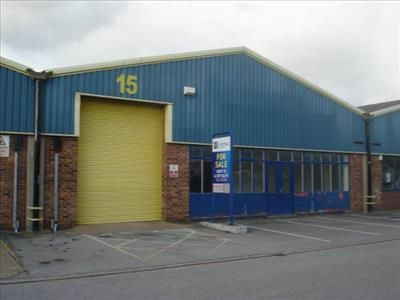 Thumbnail Light industrial to let in Unit 15, Central Trading Estate, Marley Way, Saltney, Flintshire