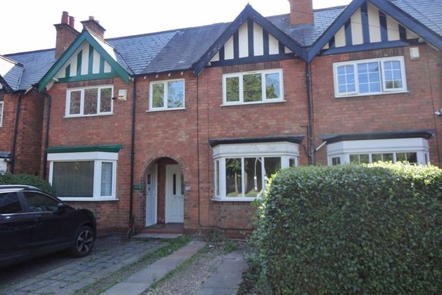 Thumbnail Terraced house to rent in Shirley Road, Hall Green, Birmingham