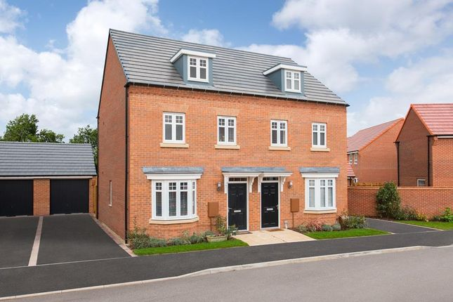 "Thumbnail End terrace house for sale in ""Kennett"" at Newton Lane, Wigston"