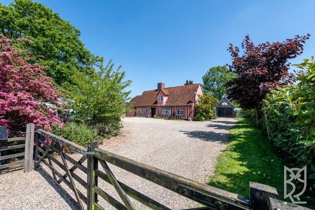 Thumbnail Detached house for sale in Swan Street, Chappel, Essex
