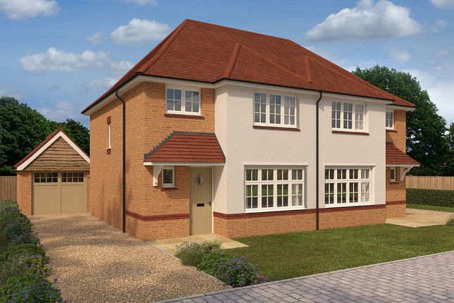 "Thumbnail Semi-detached house for sale in ""Ludlow Rvt"" at Ty-Draw Road"