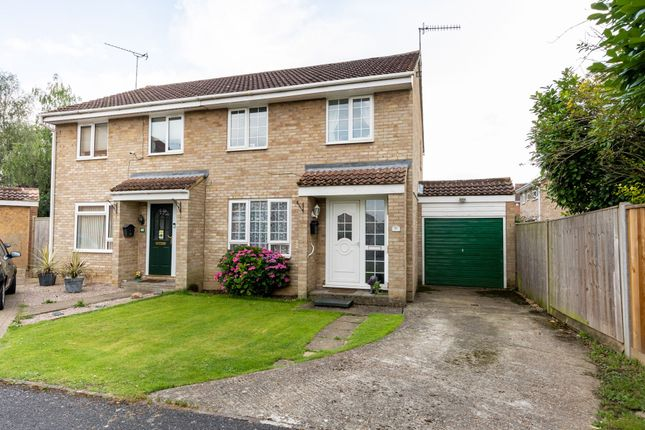 Thumbnail Semi-detached house for sale in Dimmock Close, Paddock Wood