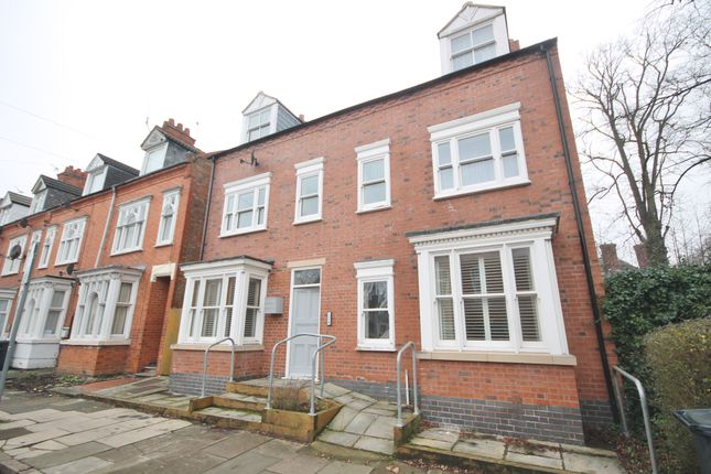 Thumbnail 2 bed flat for sale in 1A Sykefield Avenue, West End, Leicester