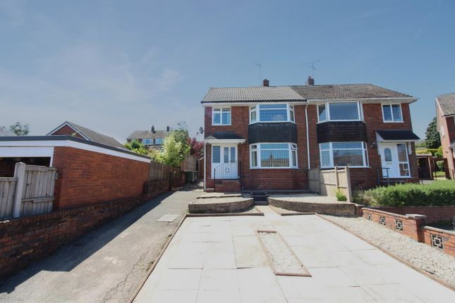 Thumbnail Semi-detached house for sale in Lindley Place, Meir Heath, Stoke-On-Trent