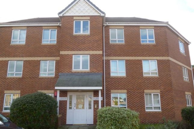 Thumbnail Flat to rent in Sandmartins Close, Berry Hill Park, Mansfield