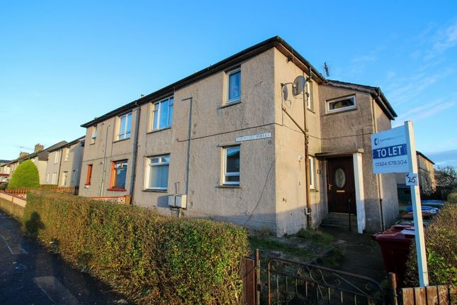 Thumbnail Flat to rent in Carmuirs Street, Camelon
