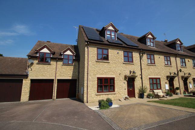 Thumbnail End terrace house for sale in Woodmancote Vale, Woodmancote, Cheltenham, Gloucestershire
