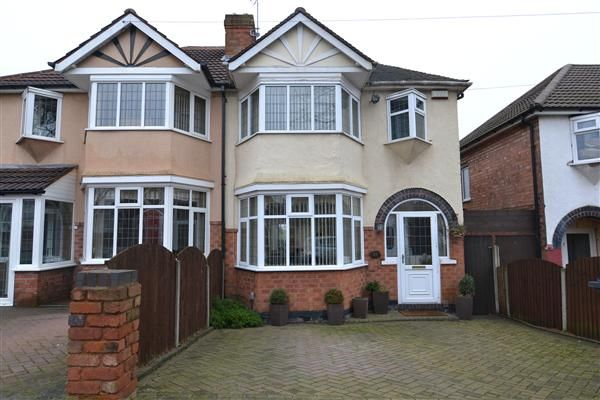 Thumbnail Semi-detached house for sale in Anstey Road, Great Barr, Birmingham
