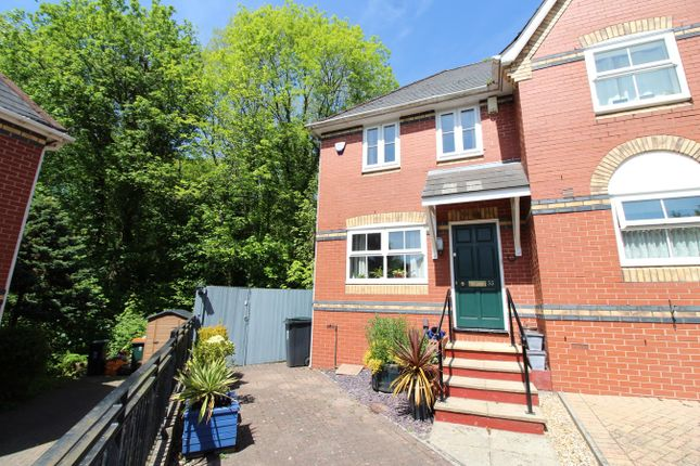 Thumbnail Semi-detached house for sale in Stow Park Drive, Newport