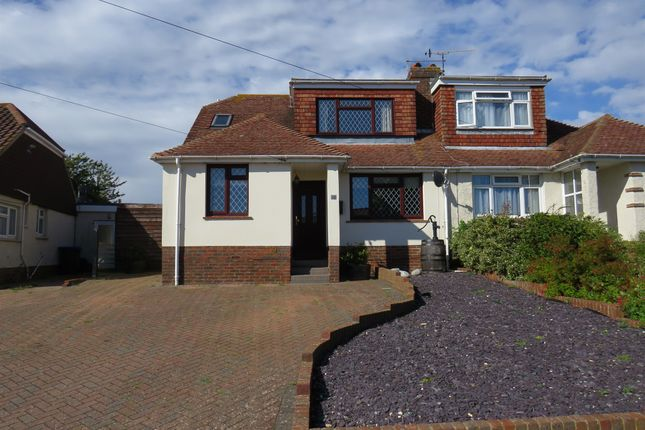 Thumbnail Bungalow for sale in Hawkins Crescent, Shoreham-By-Sea