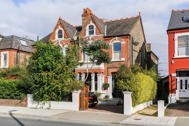 Thumbnail Semi-detached house to rent in Chiswick Lane, London