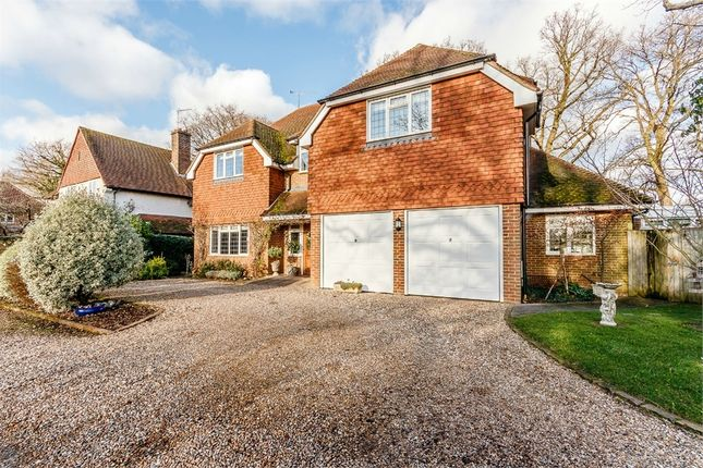 Thumbnail Detached house for sale in Wey Manor Road, New Haw, Addlestone, Surrey