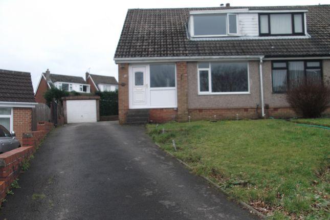 Thumbnail Semi-detached house to rent in Lamoards Close, Bradford