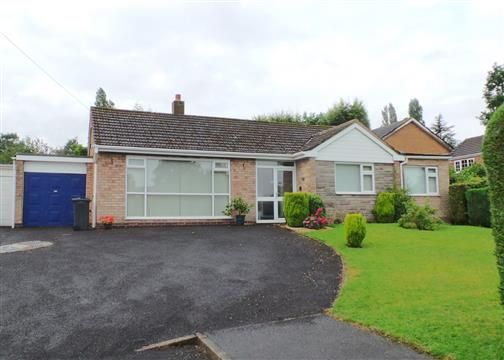 Thumbnail Detached bungalow for sale in Vernon Close, Four Oaks, Sutton Coldfield