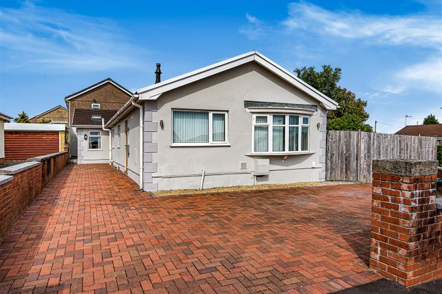 Thumbnail Detached bungalow for sale in Heol Dylan, Gorseinon, Swansea