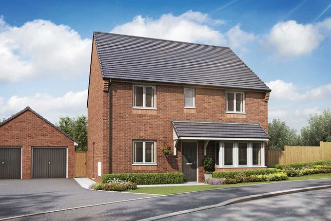 """Thumbnail Detached house for sale in """"The Pembroke"""" at Hastings Road, Grendon, Atherstone"""
