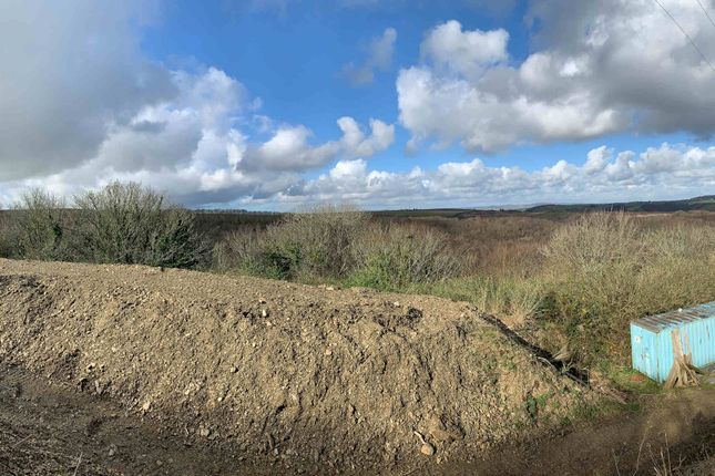 View Over Site of Potential Development Site For 9 Dwellings, Looe, Cornwall PL13