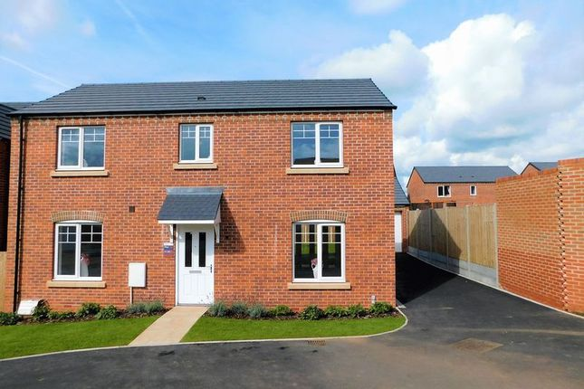Thumbnail Detached house for sale in Queens Drive, Hixon, Stafford