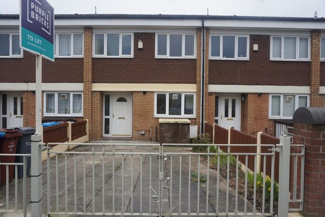 Thumbnail Terraced house to rent in Farnborough Road, Manchester