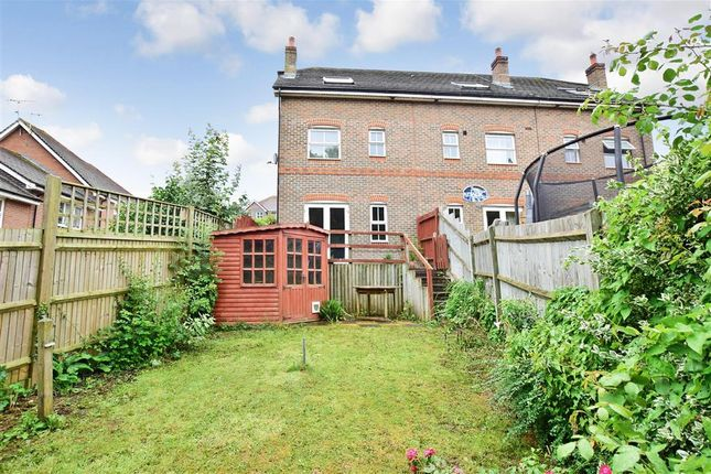 Thumbnail End terrace house for sale in Crowhurst Crescent, Storrington, West Sussex