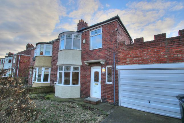 Thumbnail Semi-detached house to rent in Poplar Crescent, Birtley, Chester Le Street