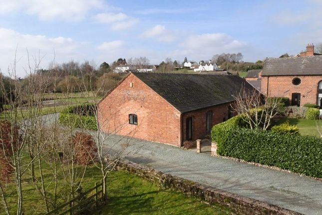 Thumbnail Semi-detached house for sale in Sutton Barns, Lower Sutton, Near Newport, Shropshire