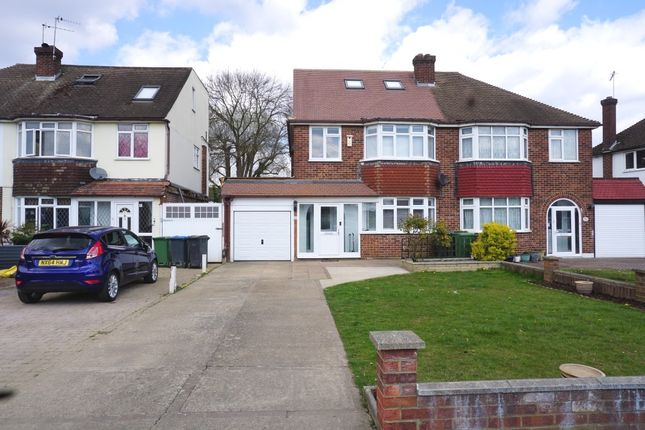 Thumbnail Semi-detached house for sale in Rosemary Gardens, Chessington