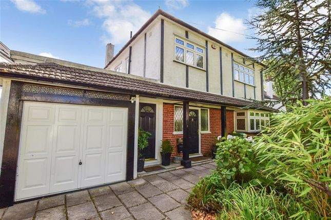 Thumbnail Detached house for sale in Castellan Avenue, Romford, Essex