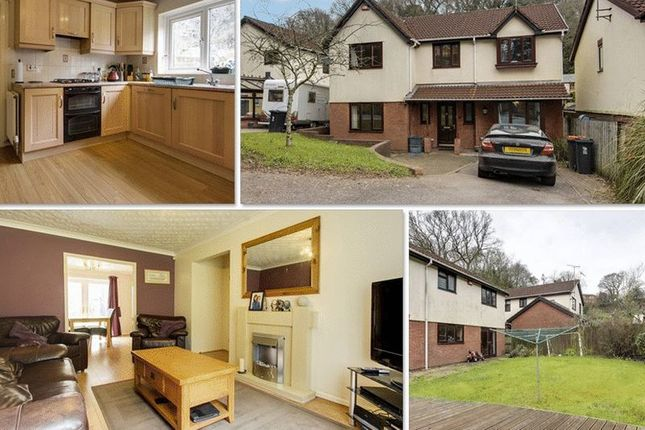 Thumbnail Detached house for sale in Ffos-Y-Fran, Bassaleg, Newport