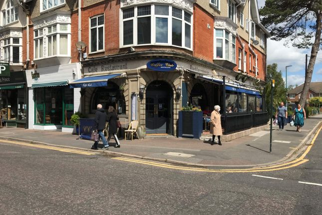 Thumbnail Commercial property for sale in Cafe/Restaurant, Bournemouth