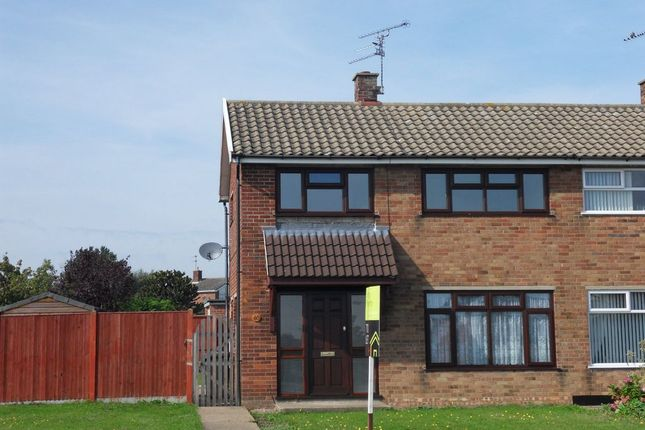 Thumbnail Semi-detached house to rent in Pinewood Avenue, Lowestoft