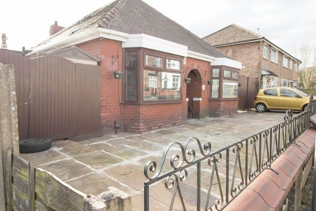 Thumbnail Detached bungalow for sale in Darley Grove, Farnworth, Bolton