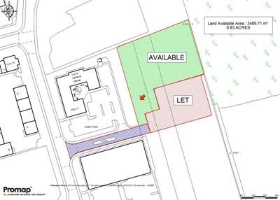 Thumbnail Land for sale in Land Adjacent To Seneca House, The Links, Amy Johnson Way, Blackpool Business Park, Blackpool, Lancashire