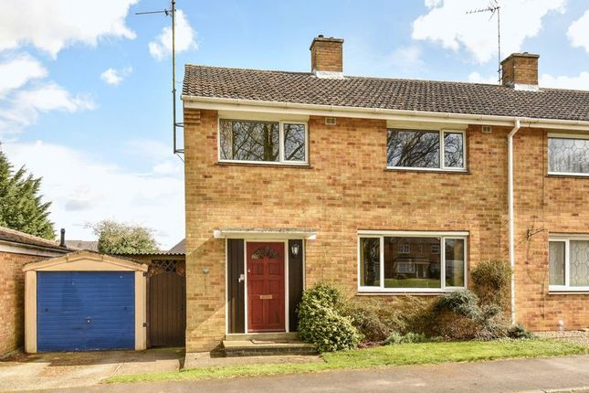 Thumbnail Semi-detached house for sale in Upton Close, Abingdon
