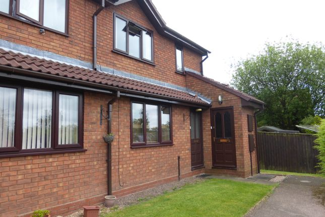 Thumbnail Flat for sale in Hamilton Close, Hednesford, Cannock