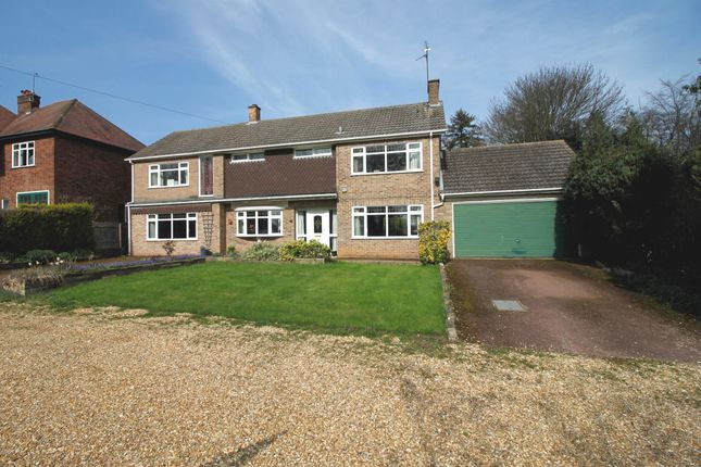 Thumbnail Detached house for sale in Thorpe Road, Longthorpe, Peterborough
