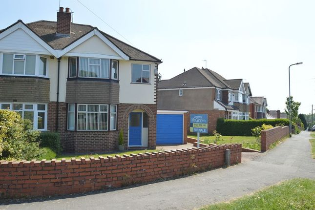 Thumbnail Semi-detached house for sale in Meadowhill Road, Riverside, Redditch
