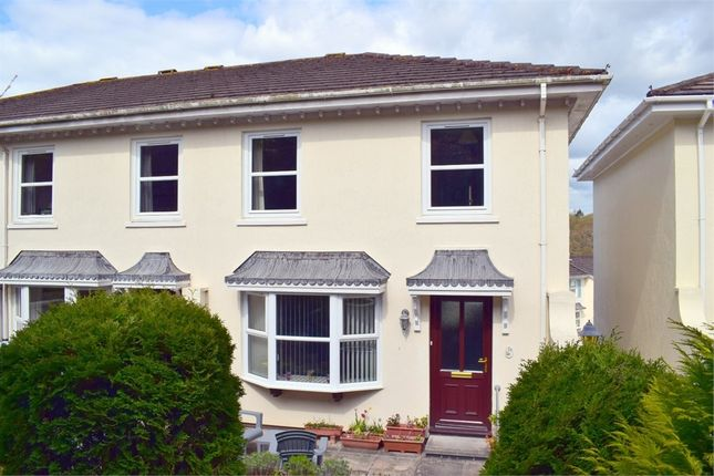 Semi-detached house for sale in Woodlands, Budleigh Salterton
