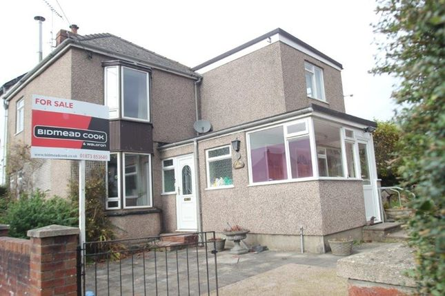 Thumbnail End terrace house for sale in Gwent Road, Mardy, Abergavenny