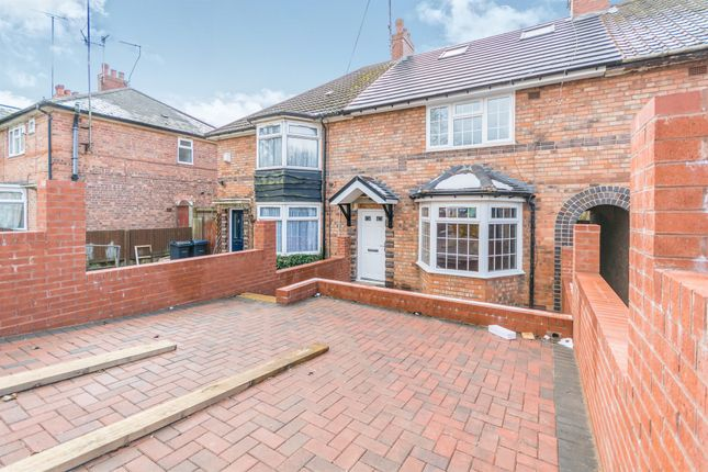 Thumbnail Terraced house for sale in Poole Crescent, Harborne, Birmingham